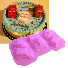 3D Car Silicone Mold Fondant Cake Chocolate Decorating Baking Tools Soap Mould
