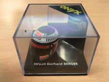 1/12 Onyx HF034 Gerrhard Berger Formula 1 F1 Model Helmet