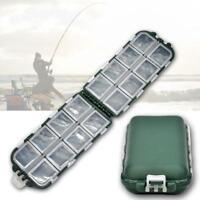 Hot Kunststoff Fischköder Angelhaken Aufbewahrungsbox Tackle Angelzubeh Box Z6D5