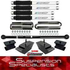 "3"" Front 3"" Rear Lift Kit w/ Track Bar Pro Comp For 1999-2004 Ford F250 F350 4WD"