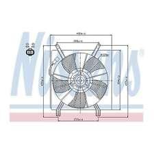 Fits Honda CR-V MK3 2.0 i-VTEC Genuine Nissens Engine Cooling Radiator Fan