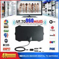 960Meilen Reichweite Antenne TV Digital 4K Antenne Digital Indoor HDTV UHD-1080P