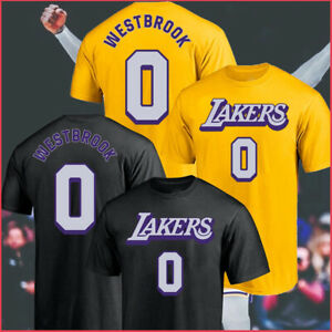 SALE!! Los Angeles Lakers Russell Westbrook NBA Trading T-Shirt Unisex