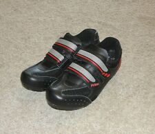 Performance Primo Men's Coed Womens Sz 40 Road Cycling Shoes New Black Red