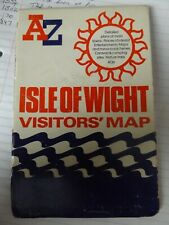 A TO Z VISITORS MAP ISLE OF WIGHT GEOGRAPHERS PAPERBACK