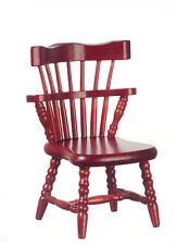 Mahogany Windsor Chair , Dolls House Miniatures, Seating
