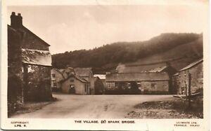 Spark Bridge near Greenodd. The Village (B) # S.PB.6 by Lilywhite.