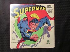 1978 Superman LP Peter Pan 8211 SEALED DC Comics