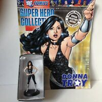 #22 DONNA TROY FIGURINE SUPER HERO COLLECTIONS DC COMICS  EAGLEMOSS 2008 1:21