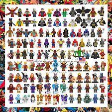 200+ Marvel Avengers Minifigures Iron Man Batman Spiderman X-Men DC Hulk Thanos