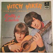 """BOBBY & LAURIE - Hitch Hiker TOP AUSSIE BEAT/ GARAGE 12"""" Vinyl LP Australia 1966"""