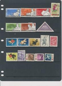 2173 China PRC stock page 17 stamps mixed condition