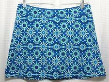 Tranquility Women's Blue Aqua Skort Skirt Shorts Size Xl Sport Tennis Golf