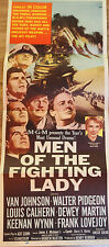 MEN OF THE FIGHTING LADY Original Insert 1954 Movie Poster + 4 Lobby Cards