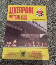 339) Liverpool v Newcastle United programme division one 21-12-1985