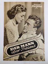 """Illustrierte Film-Bühne nr.904 """"Der Mann ihrer Träume""""Kirk Douglas,Lauren Bacall"""