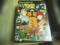 Naruto Shippuden Narutimate Accel Playstation PS2 Game Japan Import Region