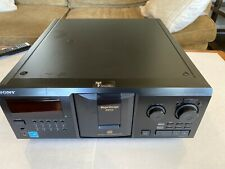 Sony CDP-CX355 300 Disc CD Player with remote, power cord, and manual Carousel
