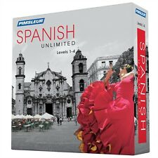 NEW Pimsleur Unlimited SPANISH Language Level 1 2 3 4 Course 120 Lessons