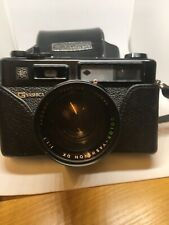 Yashica Electro 35 Gt Camera With Case And Maual