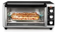 Toaster Oven Convection Countertop Pizzas 8 Slice Extra Wide Toasting Broil Bake