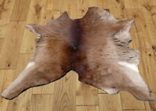 "C Grade Calfhide Rugs Area Cow Skin Leather Cowhide ULG 45469 (27"" X 30"" )"