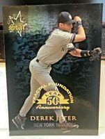 1998 Leaf Fractal Foundation/3999 #164 Derek Jeter New York Yankees Card