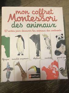 Mon Coffret Montessori Des Animaux. Jeu Éducatif Nathan