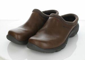M5 Men's Sz 10.5 M Merrell Encore Rexton Leather Mules In Brown