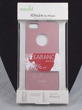 Moshi iGlaze Pink Slim Fit Ultra Thin Snap On Hard Case iphone 5 5S 99MO061301
