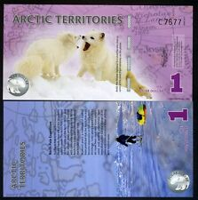 Arctic Territories, $1, 2012, Polymer, UNC Arctic Fox
