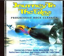 CD - Journey to the Edge:Progressive Rock Classics - Various Artists (NUEVO*NEW)