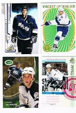 VINCENT LECAVALIER 5 CARD LOT 2013-14 OPC RETRO BLANK BACK AND UD RETRO