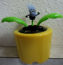 DANCING Solar Power FLOWER PURPLE EVIL MINION MOVES DESPICABLE ME HANDCRAFTED