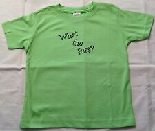 """Toddler """"What the fuss?"""" T-Shirt"""