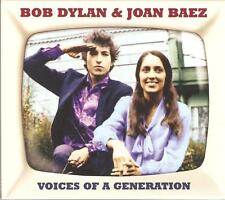 BOB DYLAN & JOAN BAEZ VOICES OF A GENERATION - 2 CD BOX SET
