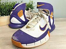 Nike Air Zoom Huarache Kobe 2K5 Lakers Purple & Gold Size 10-US 310850-151 RARE