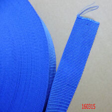 1.5 Inch Wide blue Nylon Heavy Webbing Strap Thick Knapsack Belt 10 Meters