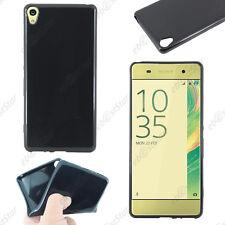 Housse Etui Coque Souple Silicone Gel Noir Sony Xperia XA, XA Dual