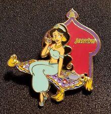 2002 DISNEY STORE 12 MONTHS OF MAGIC SERIES JASMINE & MAGIC CARPET SLIDER PIN