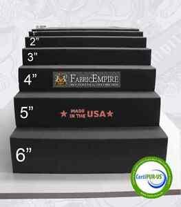 24x82 Firm Rubber Foam Sheet Premium Seats Cushion Upholstery USA MADE - NF33