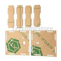 Transparent Housing Shell Case For DIY EC1515B DS1302 LED Electronic Clock Kit !