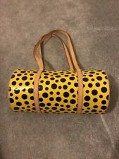 Louis Vuitton Dot Infinity (Yayoi Kusama) Papillon Yellow Poka Dot Bag Very RARE