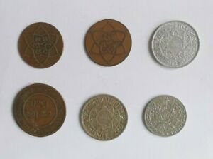 Lote Monedas Marruecos Interesante