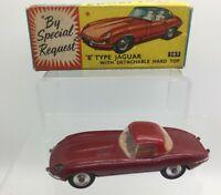 Corgi 307 E Type Jaguar In Its Original Box - Excellent Vintage Original Model