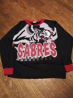 Vintage Buffalo Sabres Graphic Shirt Youth Large/ Adult Small