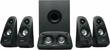 Logitech Z506 5.1 Surround Sound Home Theater Speaker System 4 TV PC Smartphones