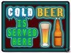 Beer metal sign funny great gift bar tavern pub mancave retro wall art 273
