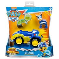 Paw Patrol, Mighty Pups/Super Paws: Chase's Deluxe Vehicle | FREE SHIPPING