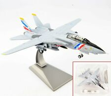 Diecast Airplane Model 1/100 Scale USA F-14 Tomcat Fighter Aircraft Toys Gift